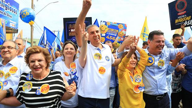 Em Trindade, Zé Eliton diz que vai garantir os avanços para Goiás seguir como referência no Brasil