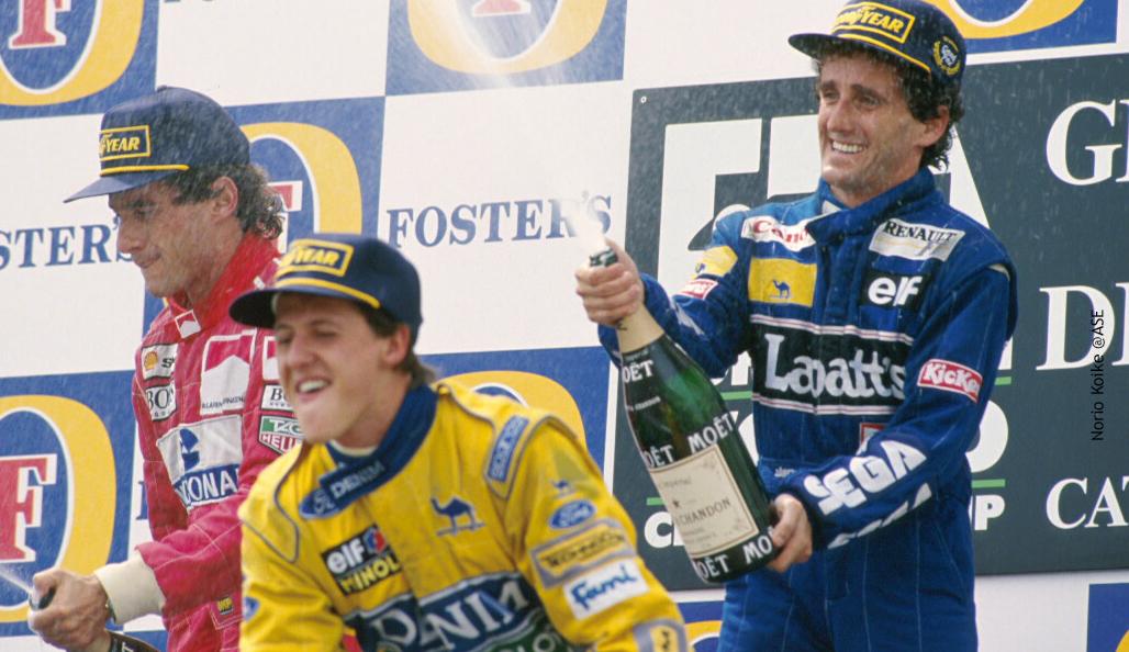 Schumacher escolheu Ayrton Senna como ídolo numa entrevista inédita