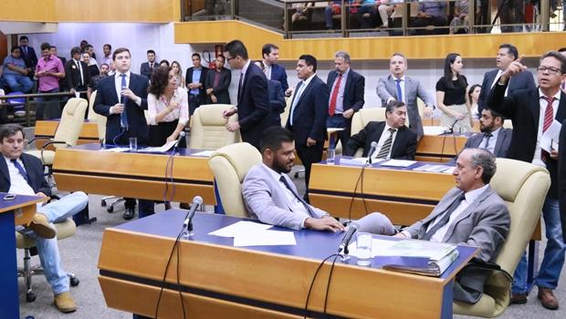Sanitização na Câmara frusta planos de convocação extraordinária para sexta-feira (16)
