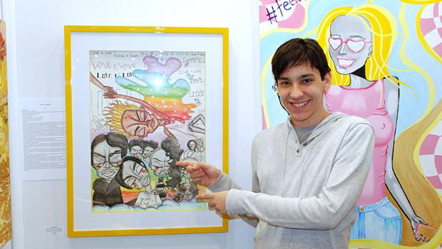 Artista goiano premiado internacionalmente assina campanha Natal de Algodão