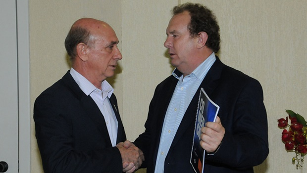 Presidente da Fecomércio e governador discutem retomada do crescimento do Estado