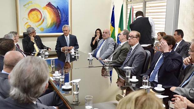 Caiado garante que seu governo será de diálogo, transparência e respeito