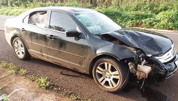 Motorista embriagado causa acidente e motociclista morre na BR-364