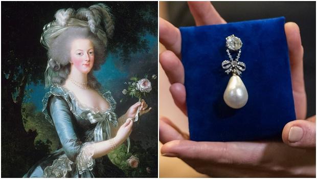 Em leilão na Sotheby's, pérola de Maria Antonieta se torna a mais cara do mundo