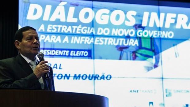 Mourão reitera necessidade de intensificar privatizações no país