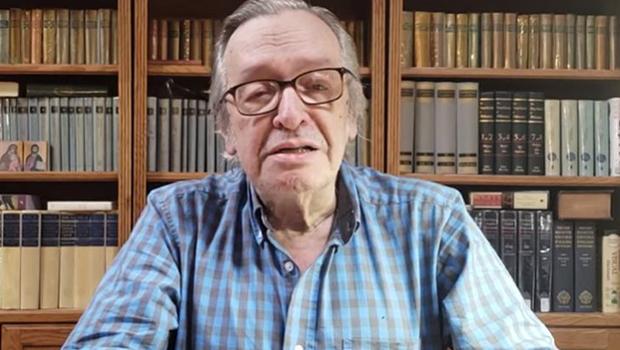 Discurso de Olavo de Carvalho é incendiário