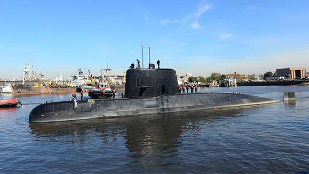 Depois de uma ano desaparecido, Submarino argentino é encontrado na Patagonia
