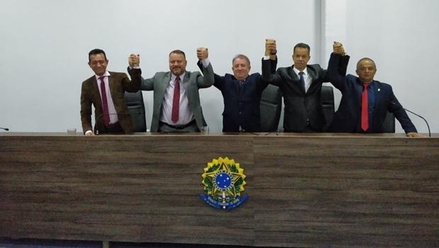 Vereador Vilmarzin é reeleito presidente da Câmara de Aparecida de Goiânia