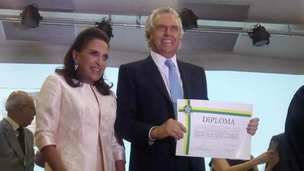 Ronaldo Caiado é diplomado pelo TRE