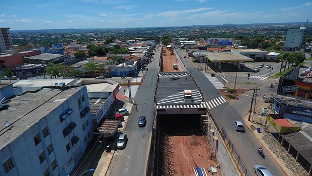 Cruzamento das Avenidas Tapajós e Rudá em Aparecida é liberado neste sábado, 15