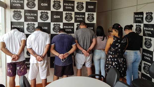 Operação investiga organização criminosa que extorquia vítimas de roubo a veículos
