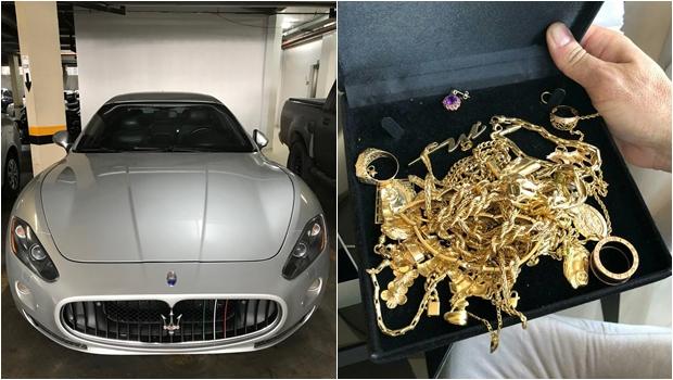 Operação Confraria apreende carros de luxo, dinheiro e jóias na casa de investigado