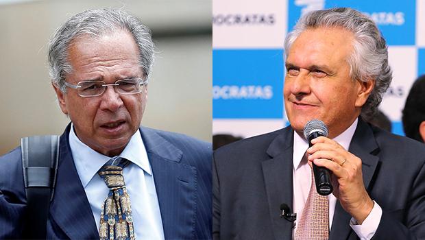 Secretário da Fazenda de Goiás passa por Ronaldo Caiado e Paulo Guedes