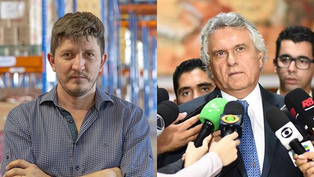 Ronaldo Caiado planeja bancar Glaustin da Fokus para prefeito de Aparecida de Goiânia