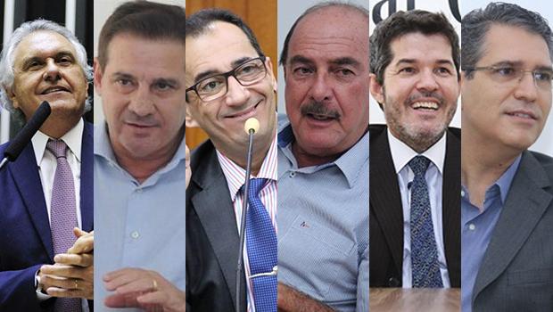 Caiado, Vanderlan, Kajuru, Zacharias e Waldir são os políticos mais respeitados em Goiânia