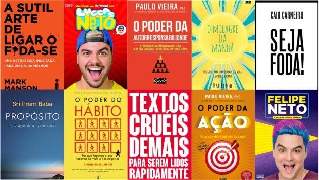 Os 10 livros mais vendidos pela Saraiva em 2019