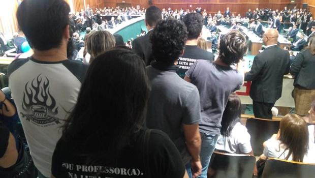 Categoria reage à declaração de Caiado sobre diferença entre professores e militância do PSTU