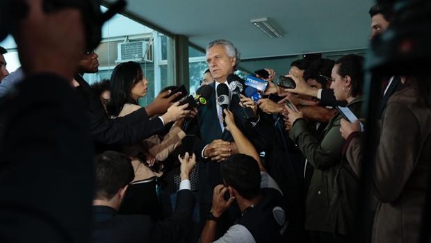 Caiado afirma que Regime de Recuperação Fiscal (RRF) está descartado para Goiás