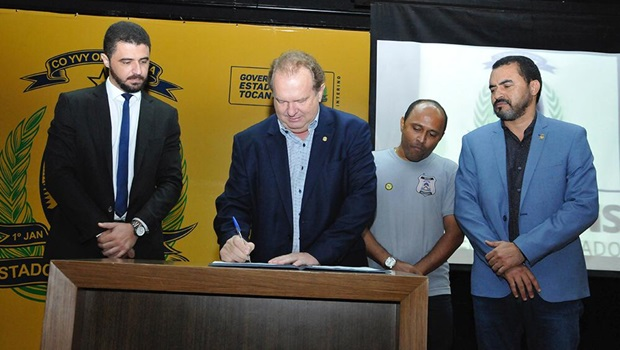 Governador do Tocantins anuncia posse de aprovados no concurso da Cidadania e Justiça