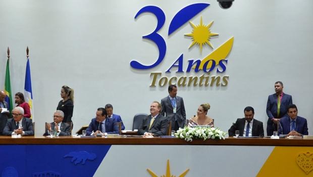 Deputados estaduais são empossados e Toinho Andrade eleito presidente da Assembleia