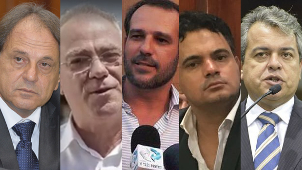 MDB vai expulsar Adib Elias, Paulo do Vale, Renato de Castro, Fausto Mariano e Ernesto Roller