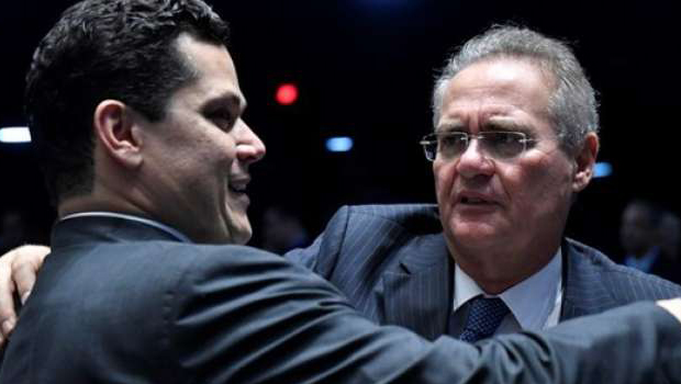 O que a imprensa não viu na vitória de Alcolumbre e na derrota de Renan Calheiros