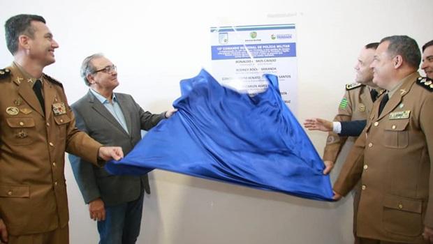 Prefeitura de Trindade inaugura novas instalações do 16º Comando Regional da Polícia Militar