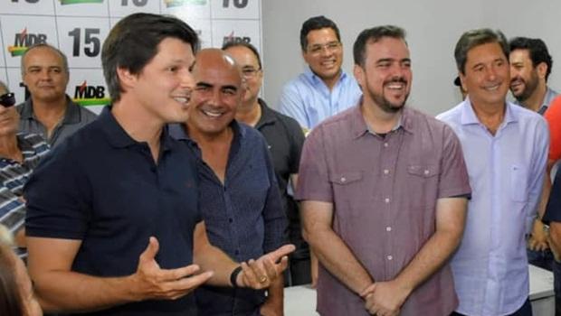 Daniel Vilela Paulo Cezar Martins Gustavo Mendanha Maguito Vilela - Foto Divulgação