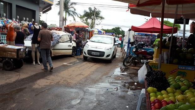 Associação alerta Prefeitura de Goiânia sobre risco de tragédia na Rua 44