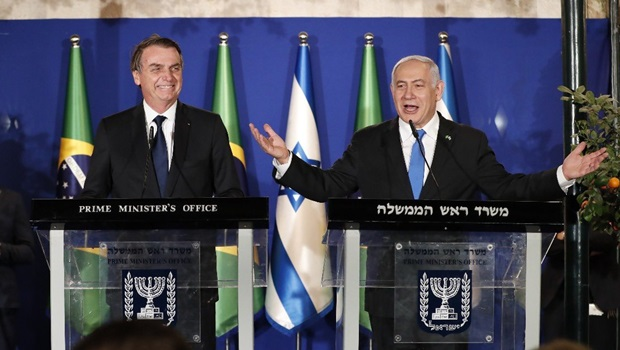 Bolsonaro anuncia abertura de escritório brasileiro em Israel