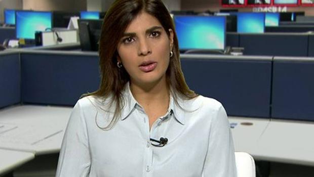 Andréia Sadi faz sucesso no jornalismo televisual porque é inteligente, incisiva e bonita