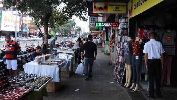 Empresários e comerciantes da região central de Goiânia criticam descaso da gestão Iris