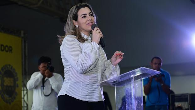 Cinthia Ribeiro completou um ano à frente da Prefeitura de Palmas | Foto: Luciana Pires