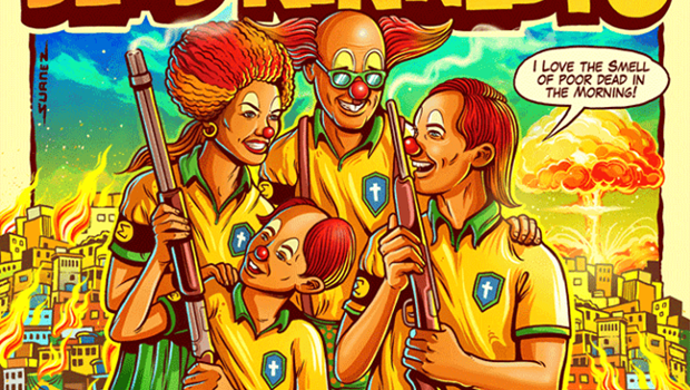 Dead Kennedys libera pôster de turnê com ironias à situação no Brasil e gera polêmica