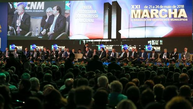 Começa nesta segunda-feira, 8, e segue até o dia 11 de abril, o maior evento municipalista do Brasil, a XXII Marcha a Brasília em Defesa dos Municípios - Jornal Opção