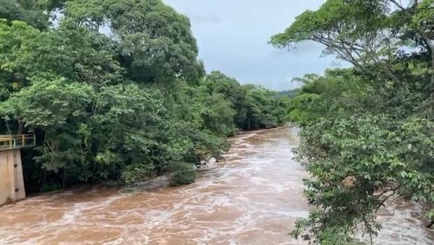 Corpo de Bombeiros continua buscas por funcionário da Saneago que caiu no Meia Ponte