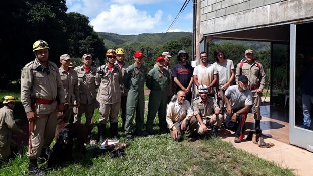 Grupo se perdeu em trilha em Goiás, mas foi encontrado pelo Corpo de Bombeiros