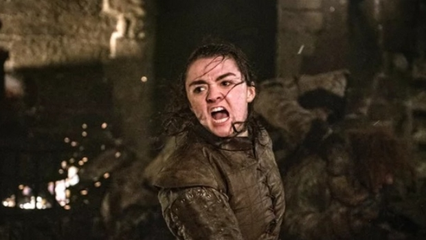 Maisie Williams, a Arya Stark de Game of Thrones