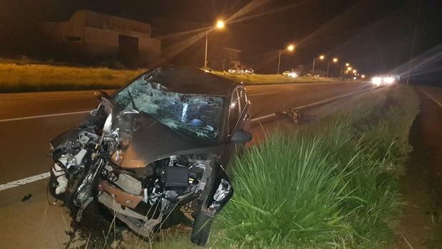 Um homem de 30 anos e sua filha, de apenas 5 anos, não resistiram aos ferimentos de uma colisão frontal, na noite deste sábado, 13. O acidente aconteceu na BR 060, em Guapó_ Jornal Opção