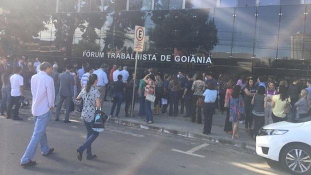 Alarme falso de incêndio faz com que prédio do TRT seja evacuado