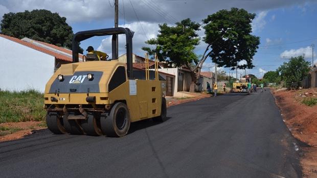 Prefeitura de Aparecida lança obras de pavimentação no Setor Solar Park