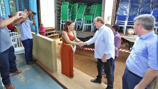 Governador Carlesse inaugura obras em Gurupi
