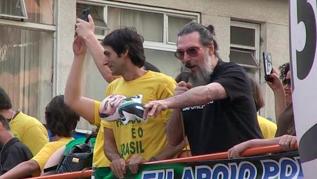 """""""Óbvio que o governo vai ruir"""", diz Lobão sobre gestão de Bolsonaro"""