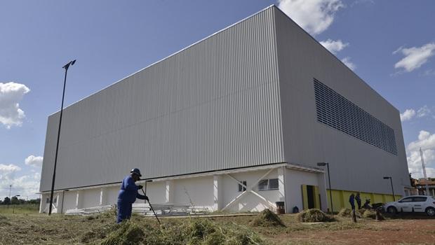 Obras do Centro de Iniciação Esportiva de Aparecida chegam à fase final
