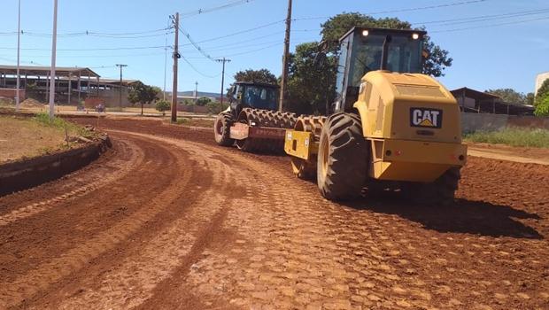 Prefeitura recupera cruzamento das avenidas LO-12 com NS-01