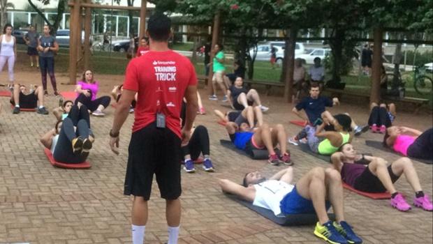 Exercícios ao ar livre estão se tornando uma opção às academias tradicionais