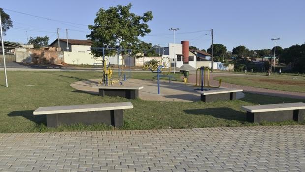 Prefeitura de Aparecida inaugura Praça no Parque Atalaia