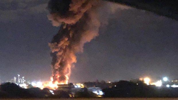 Estado de saúde das vítimas do incêndio que atingiu empresa de reciclagem é grave