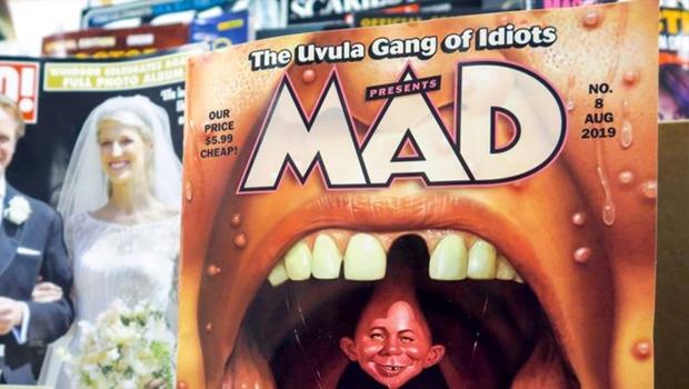 Revista Mad anuncia o fim de uma era