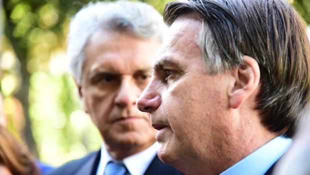 Caiado e bancada goiana se reúnem com Bolsonaro para pedir cassação de contrato com a Enel